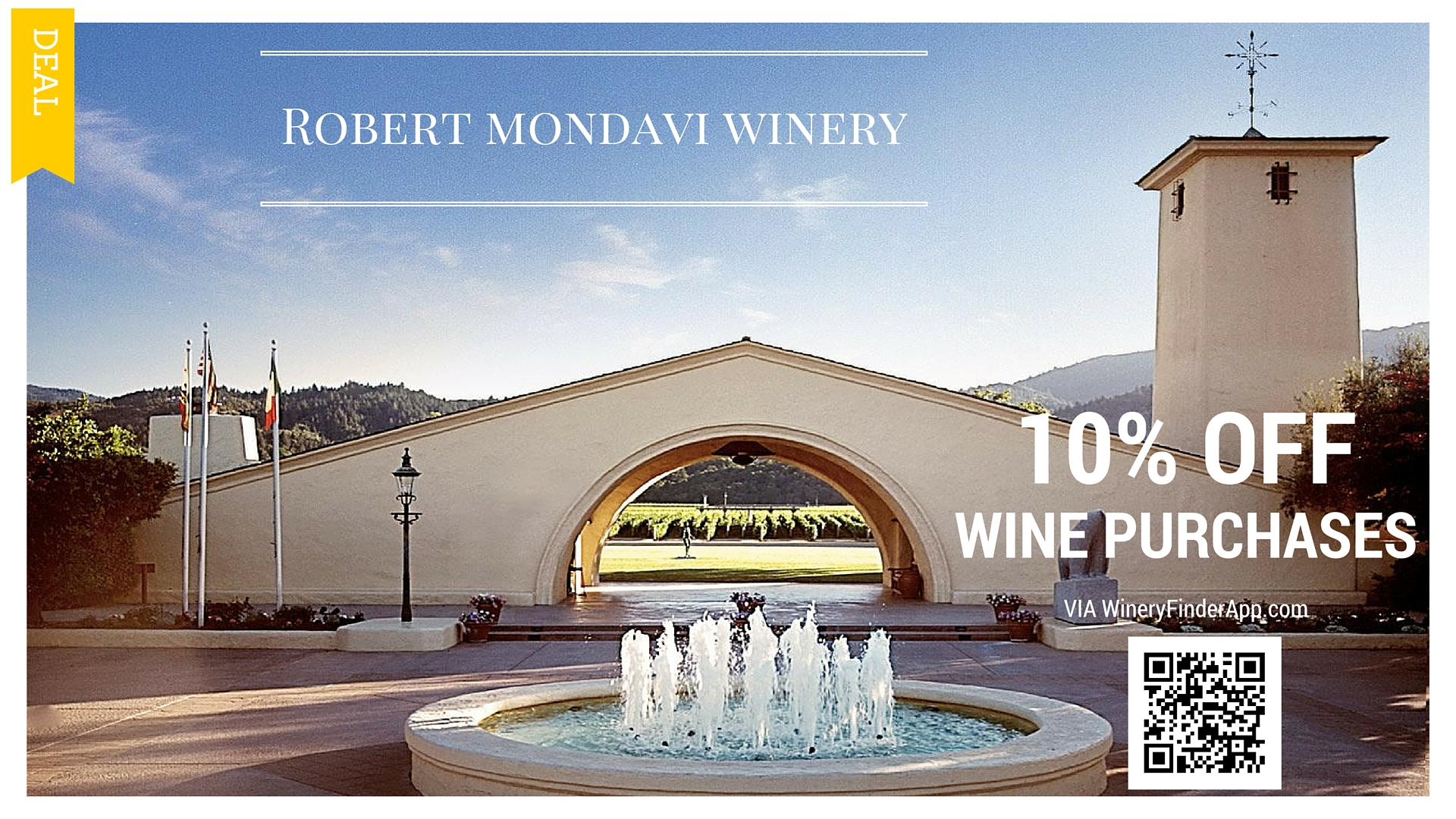 Robert mondavi winery Coupon NEW