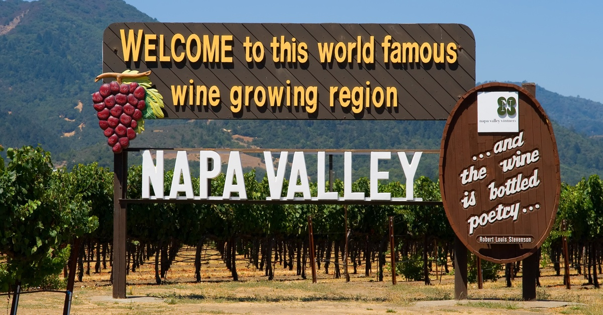 COMPLETE LIST OF NAPA VALLEY WINERIES